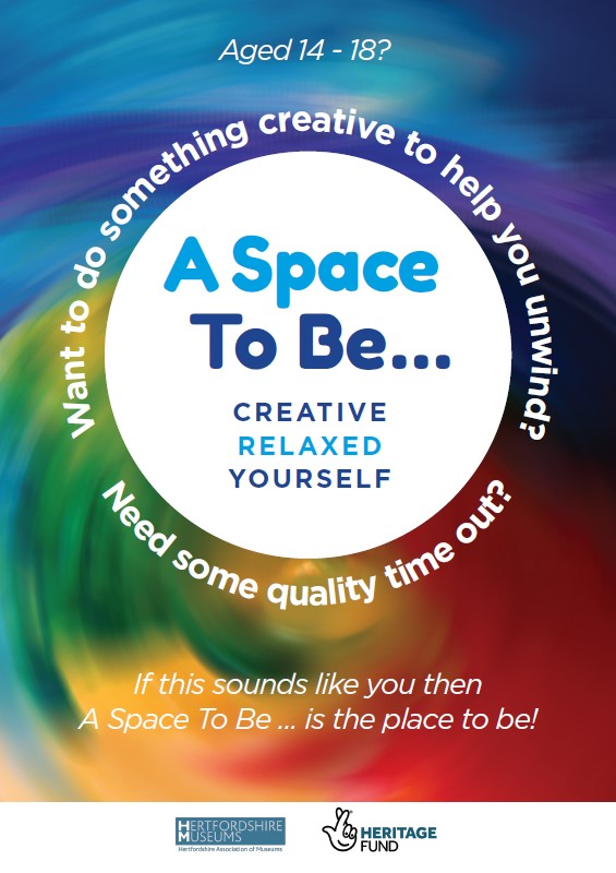 A Space To Be Poster